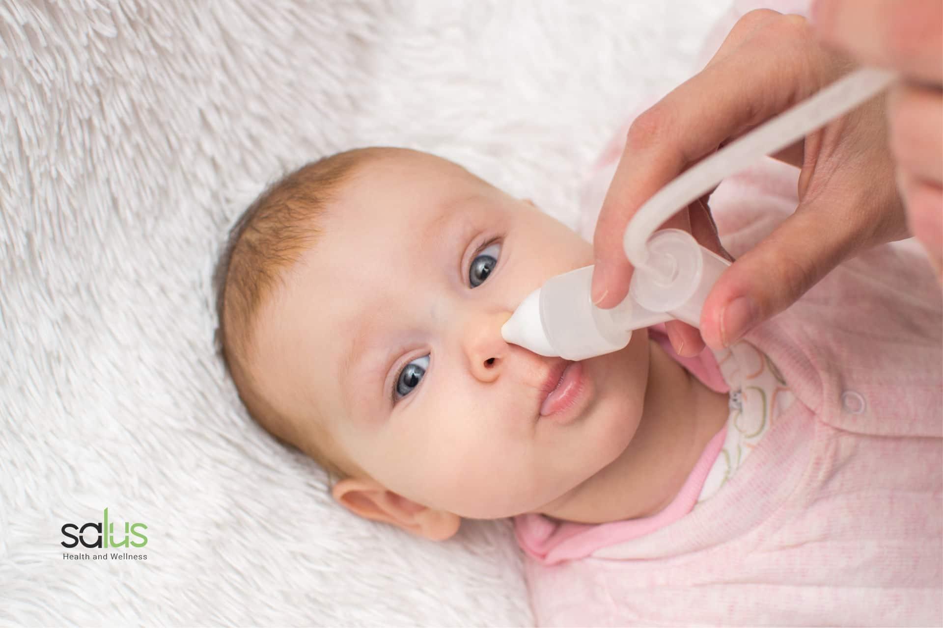 Salus Blog Aspiratore nasale per neonati come funziona e perché usarlo