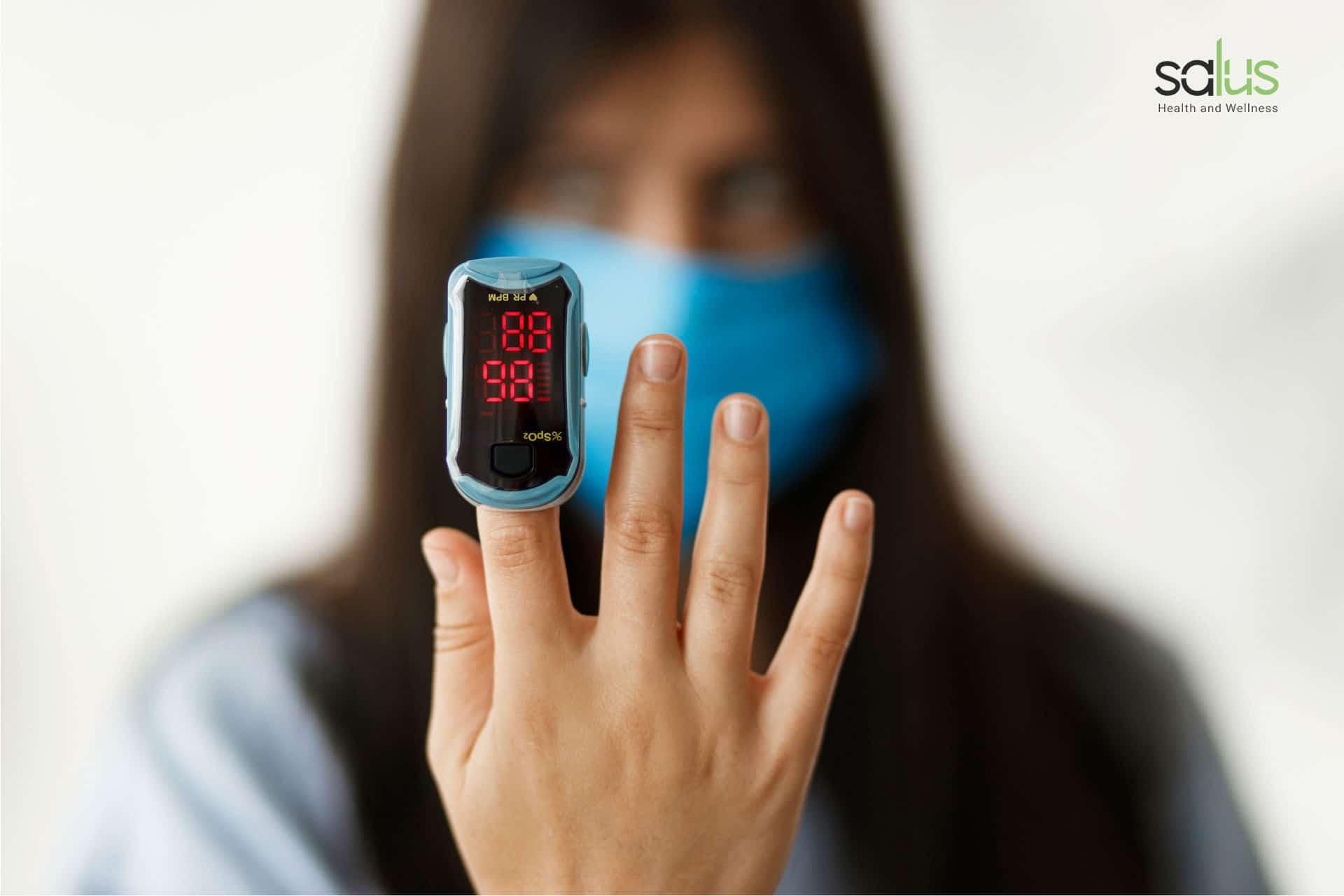Salus Blog Saturazione ossigeno nel sangue cos'è e come misurarla
