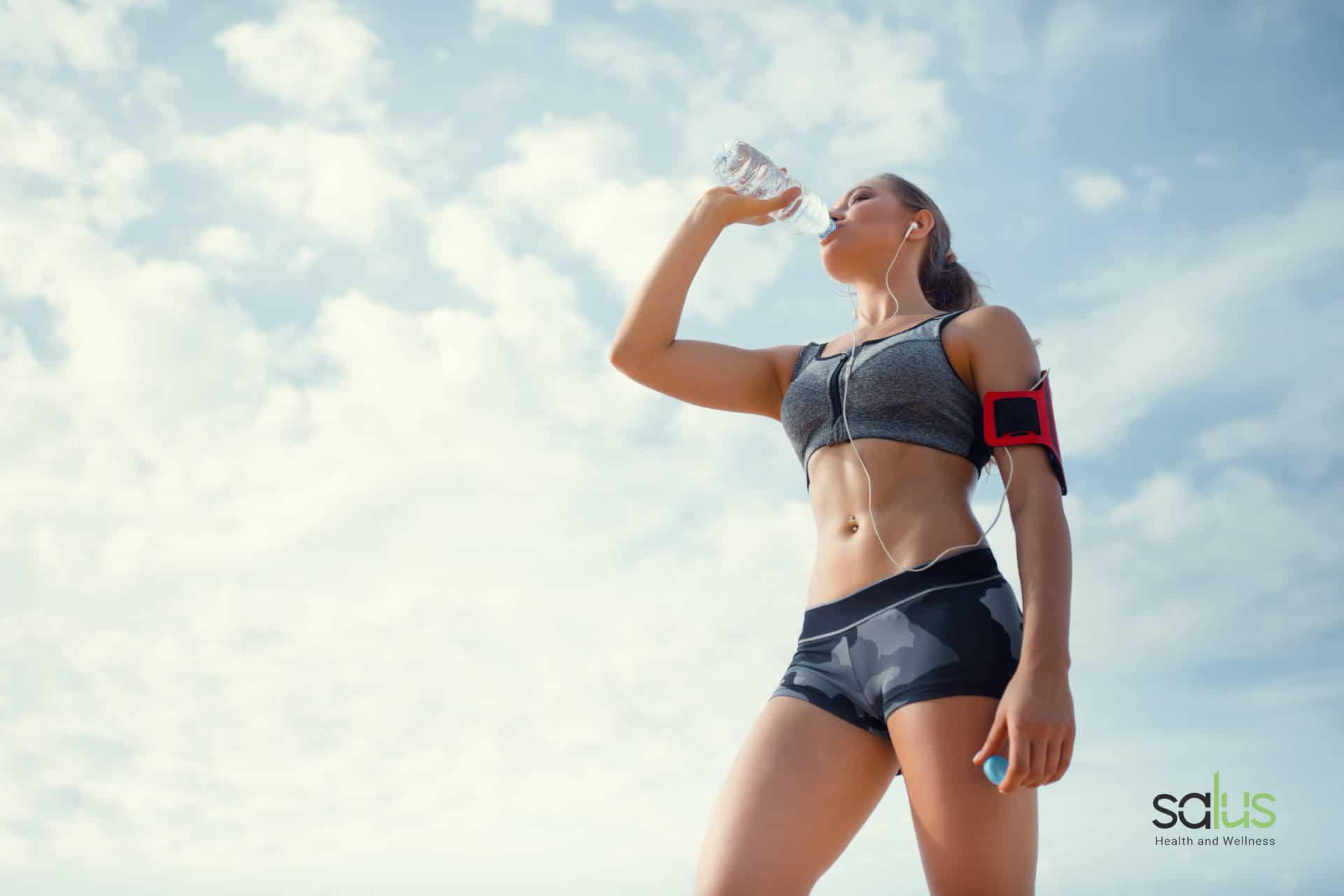Salus Blog - Ritenzione idrica gambe come combatterla