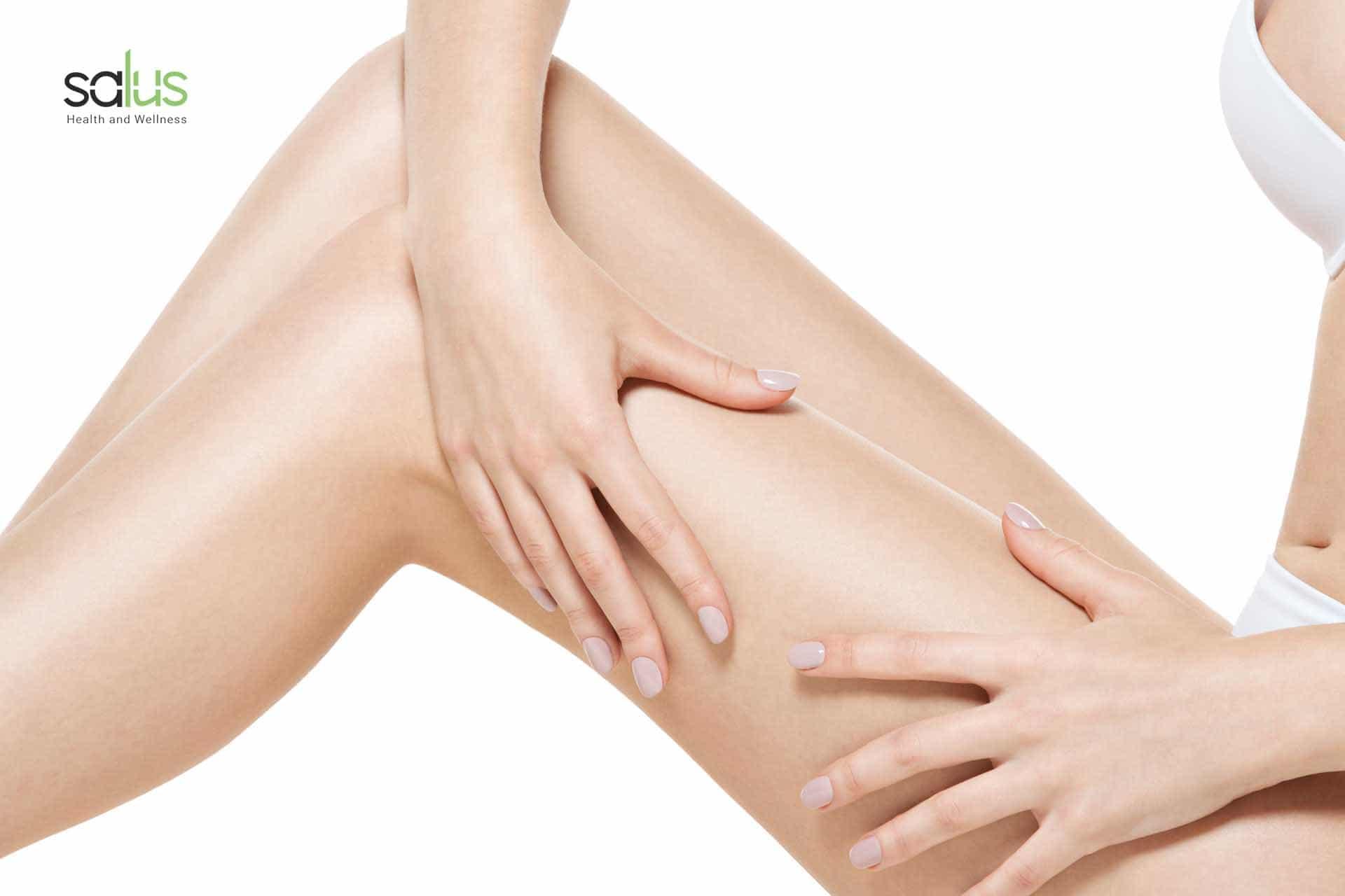 Salus blog - combattere la cellulite esercizi per la ritenzione idrica