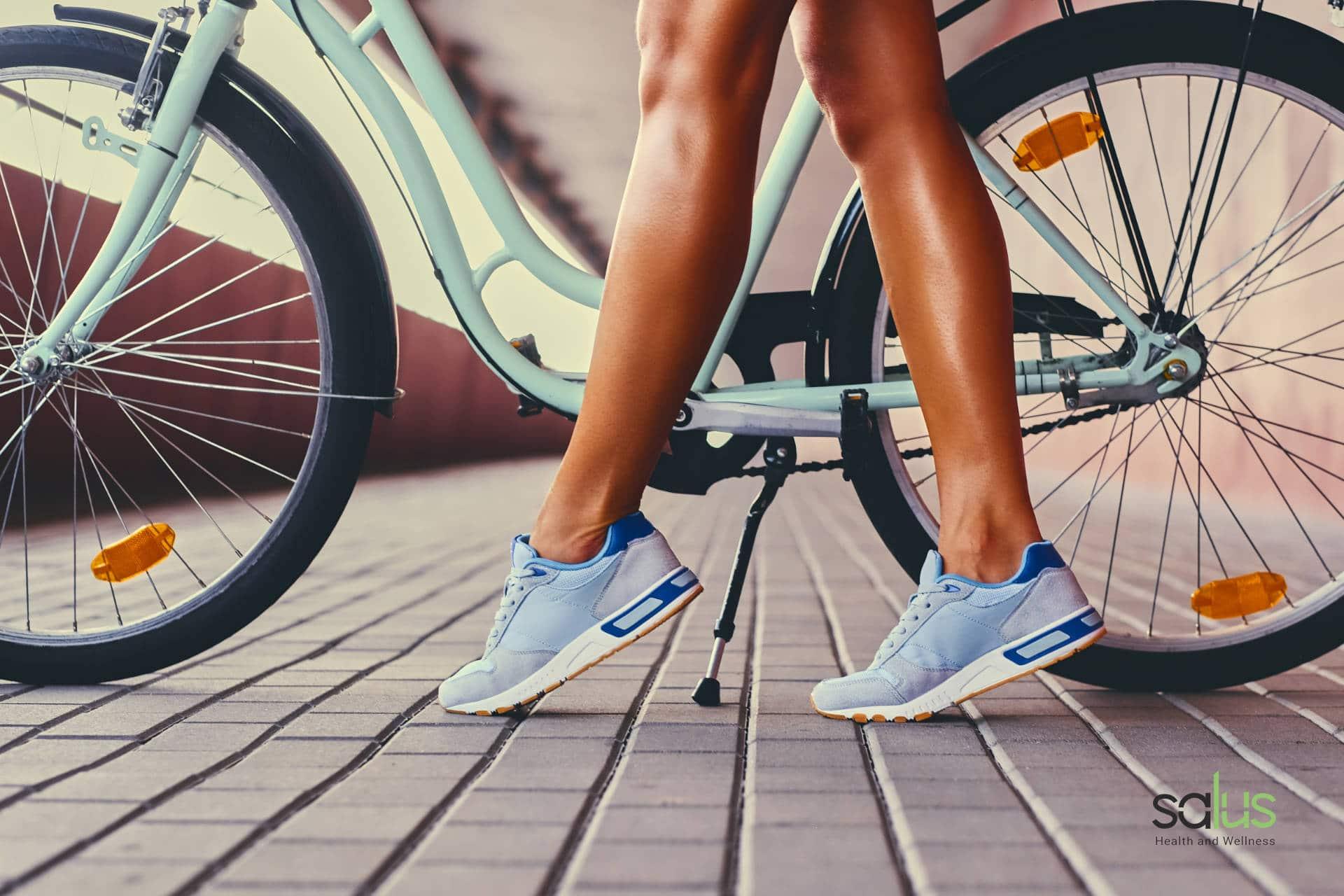 Salus blog - esercizi per evitare le gambe da cicllista