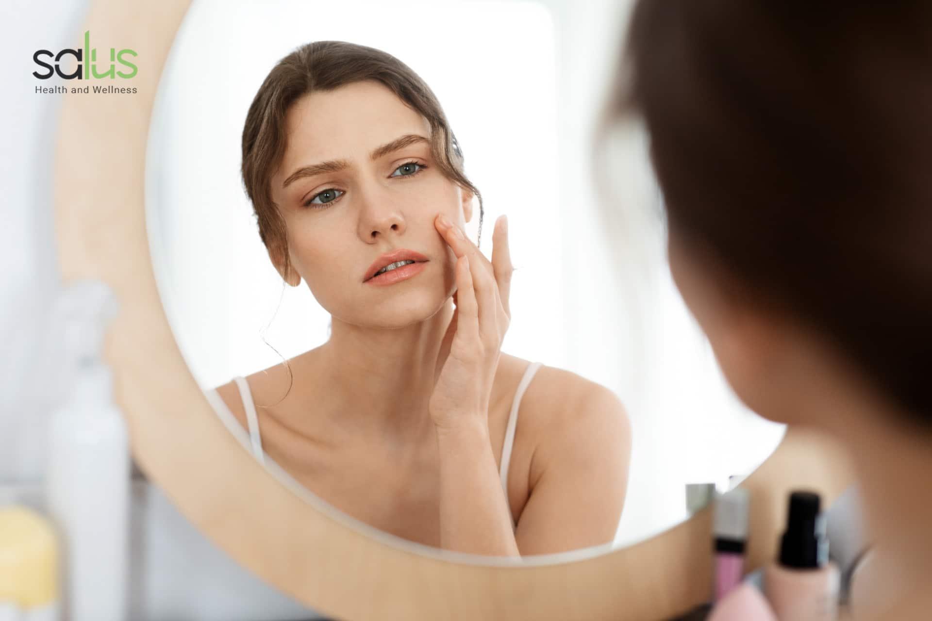 Salus Blog - Acne da mascherina e make up come fare