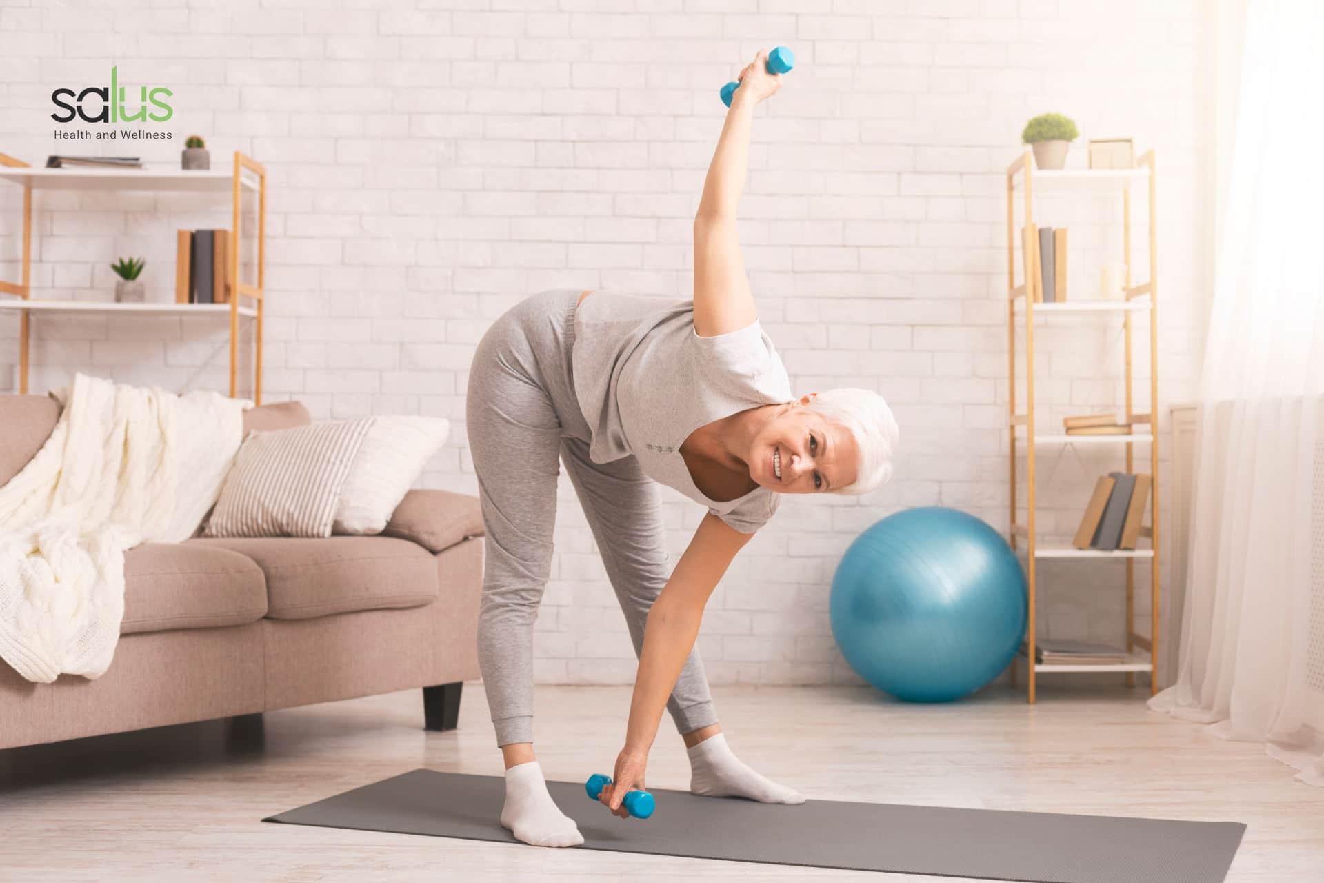 Salus Blog - Mantenersi in forma a 60 anni ecco come