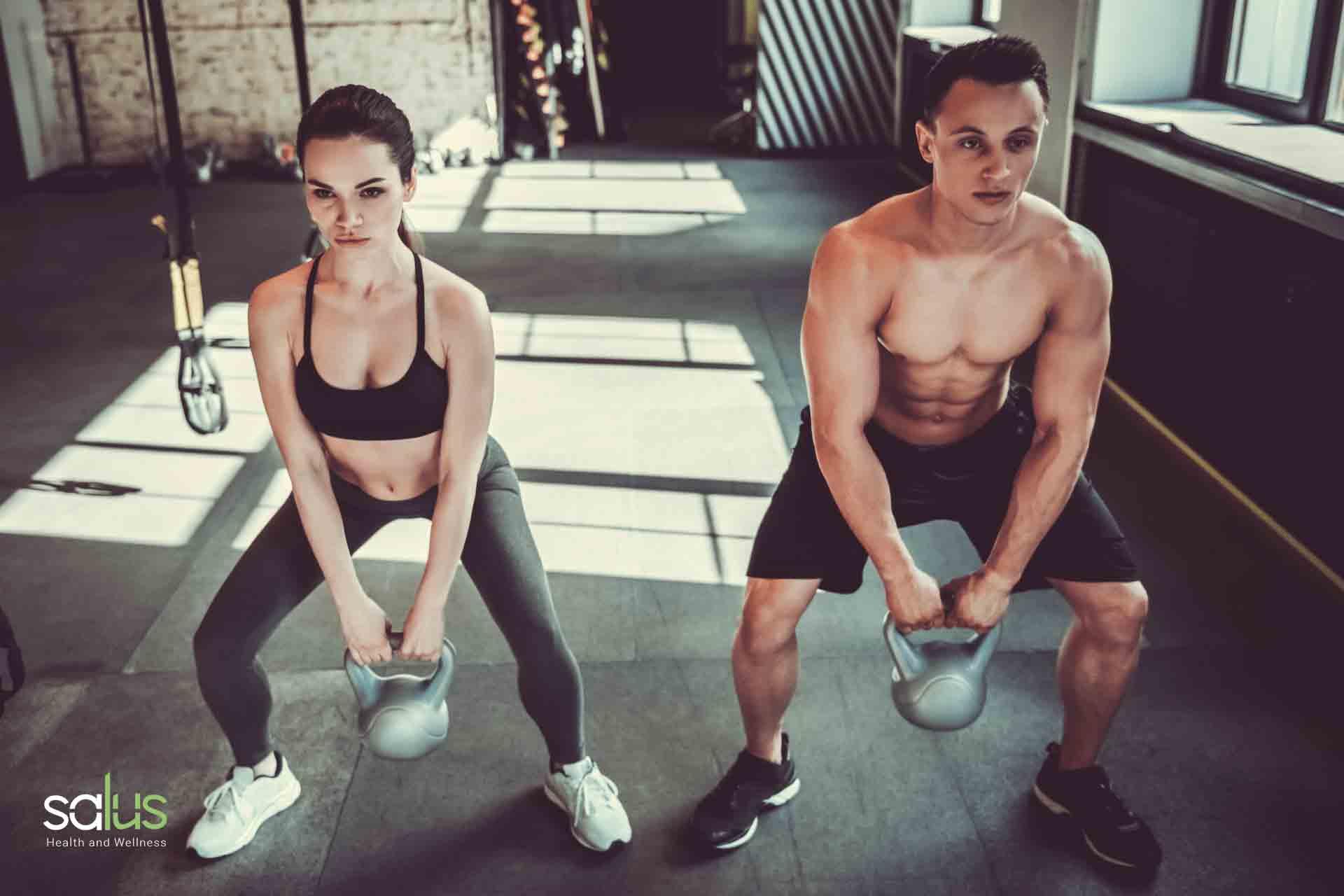 Salus Blog - Esercizi Potenziamento Muscolare