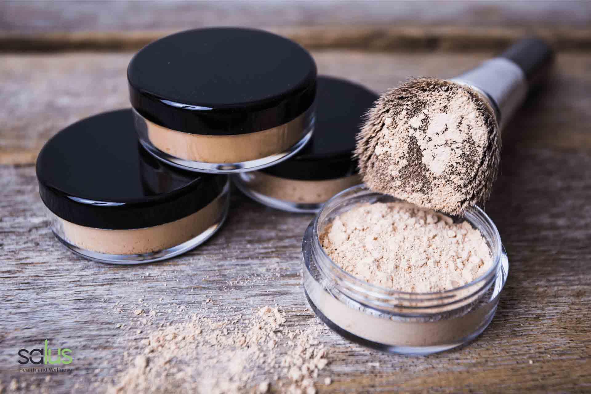 Salus blog - make-up minerale
