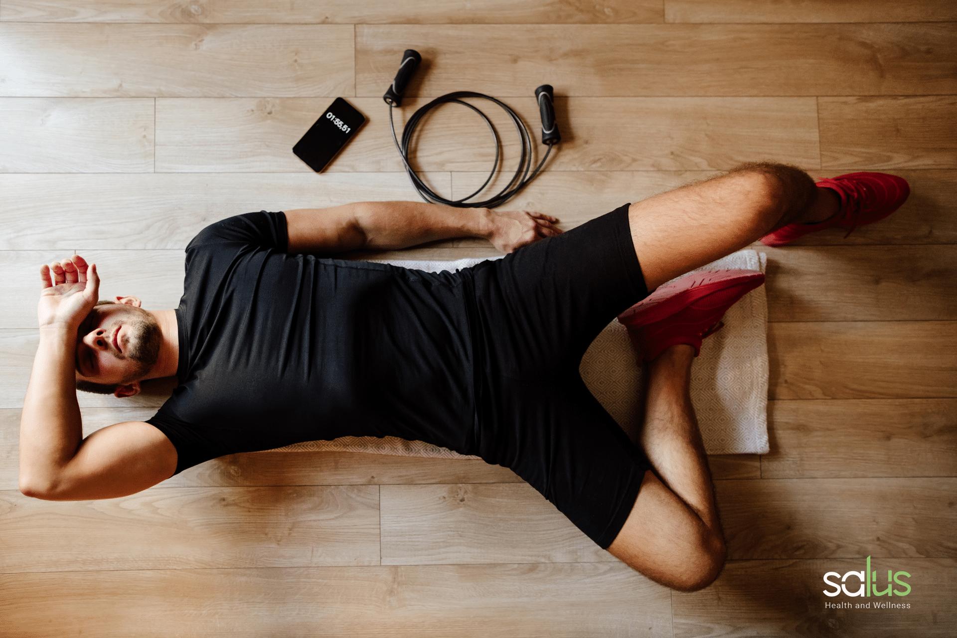 Salus blog - affaticamento muscolare