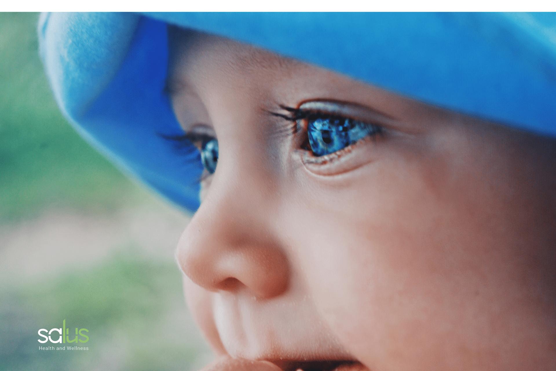 Salus blog - occhiaie nei bambini