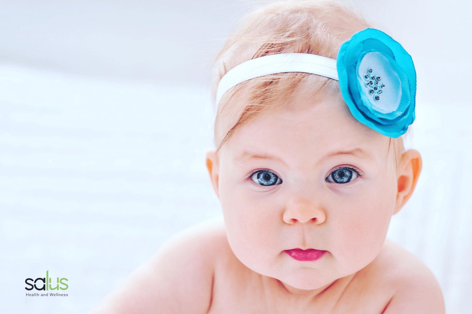 Salus blog - occhiaie nei neonati