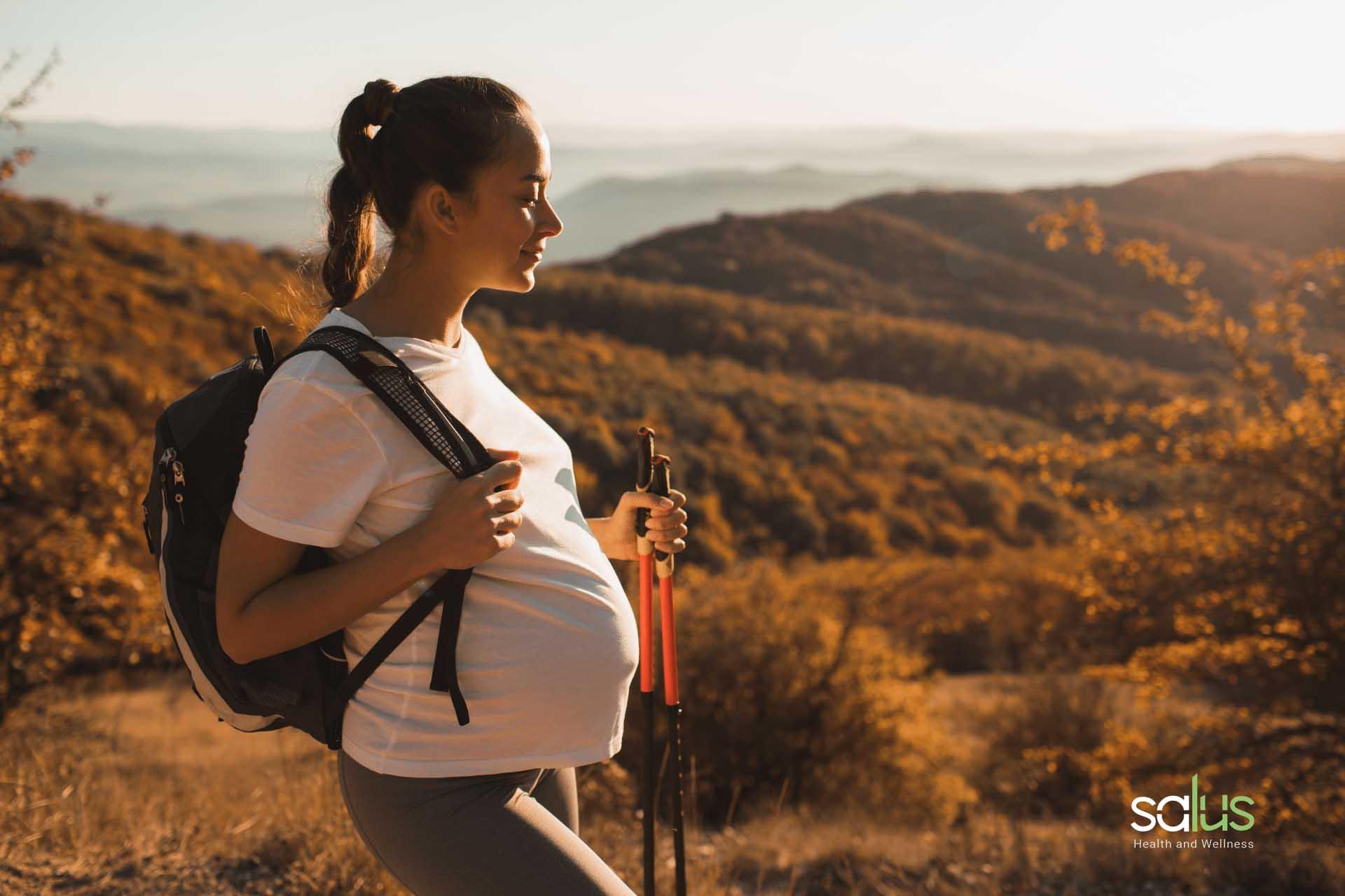 Salus blog - montagna in gravidanza