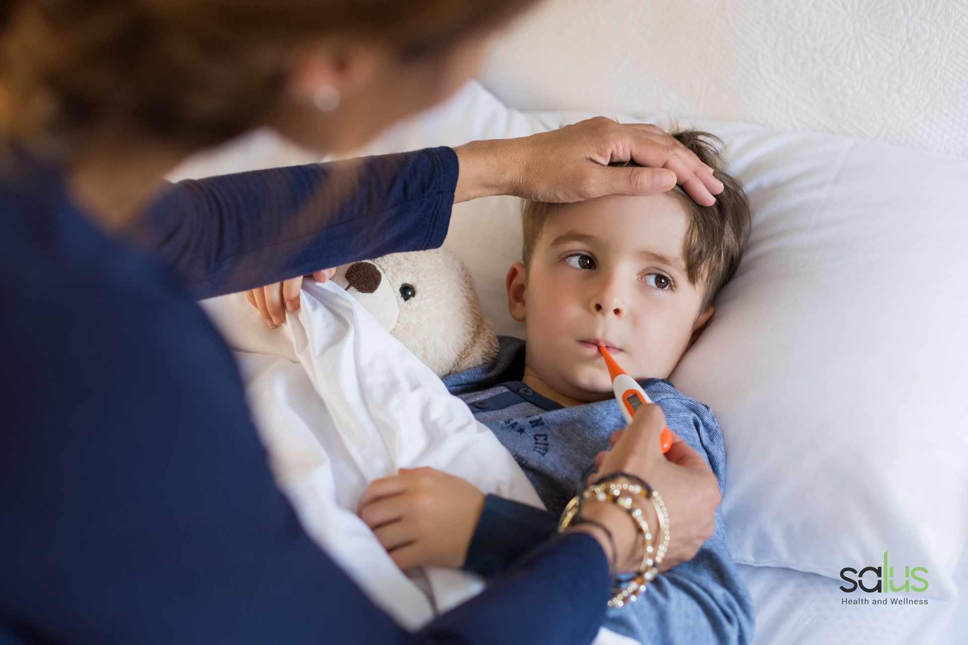 Salus Blog - Febbre senza sintomi bambini
