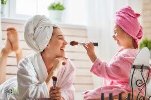 Salus Blog - make-up veloce mamme