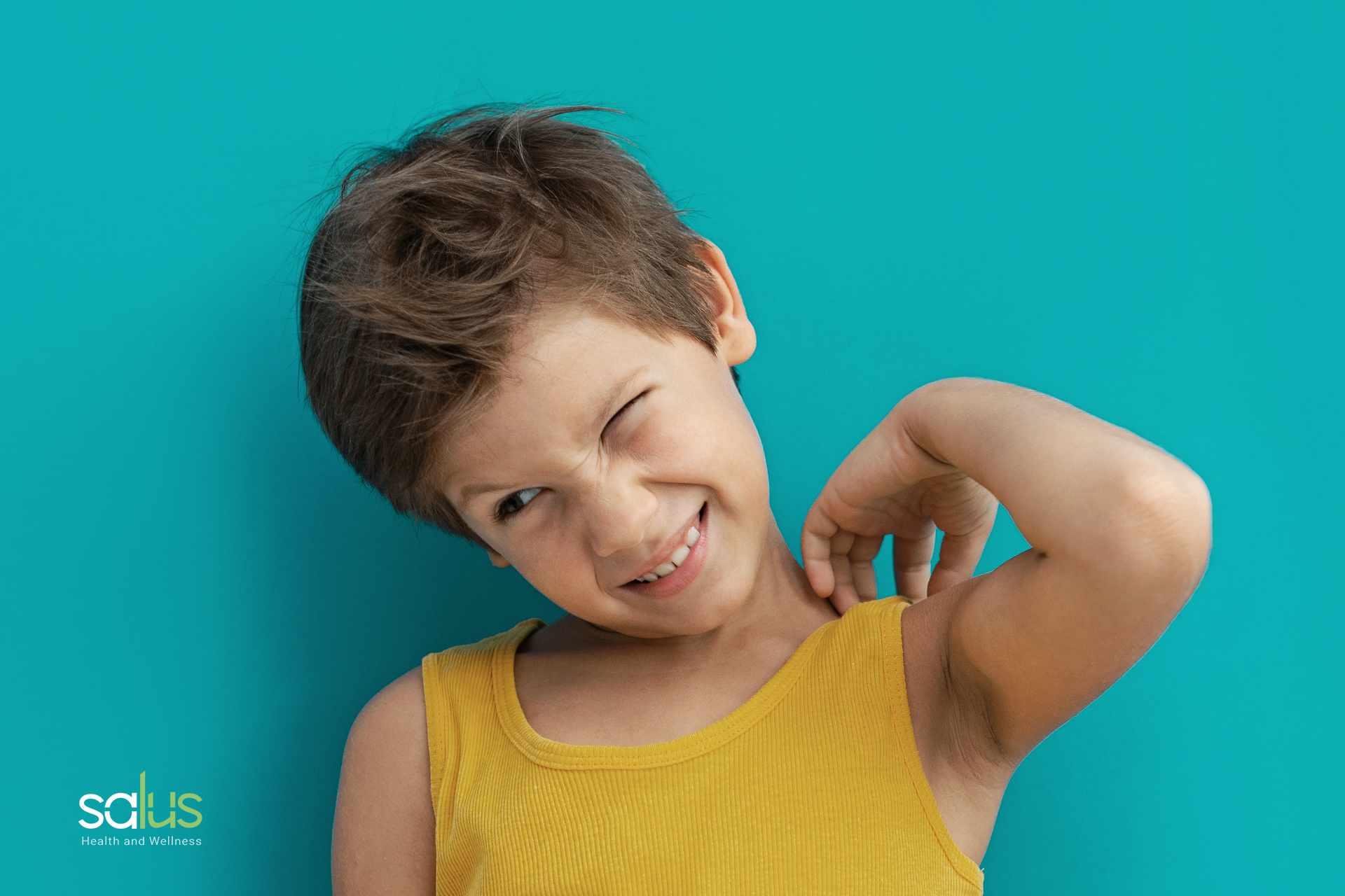 Salus Blog - dermatite sudore bambini