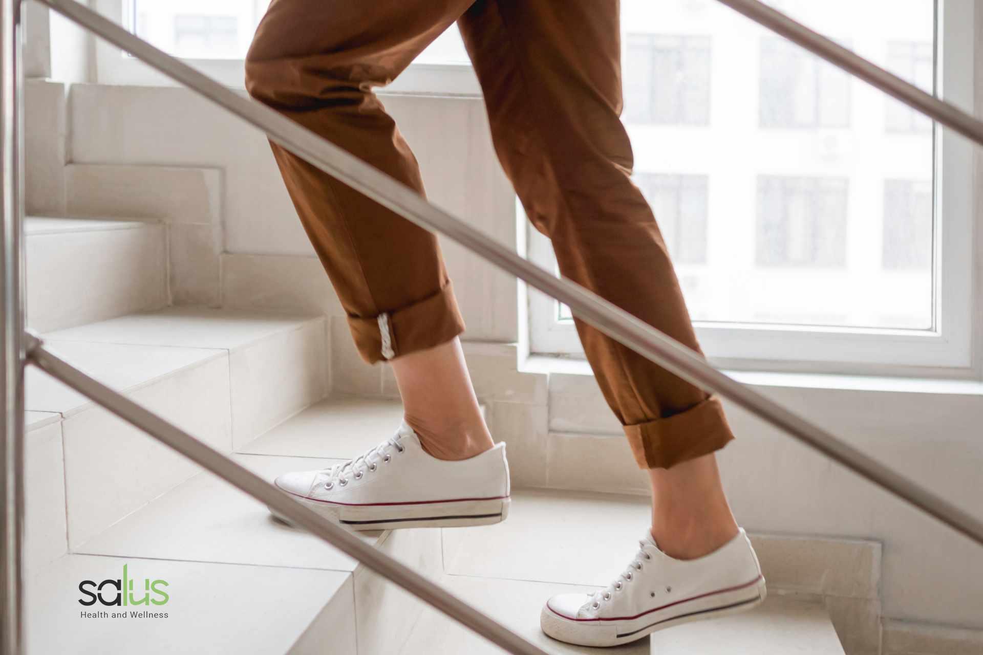 Salus Blog - salire le scale fa bene