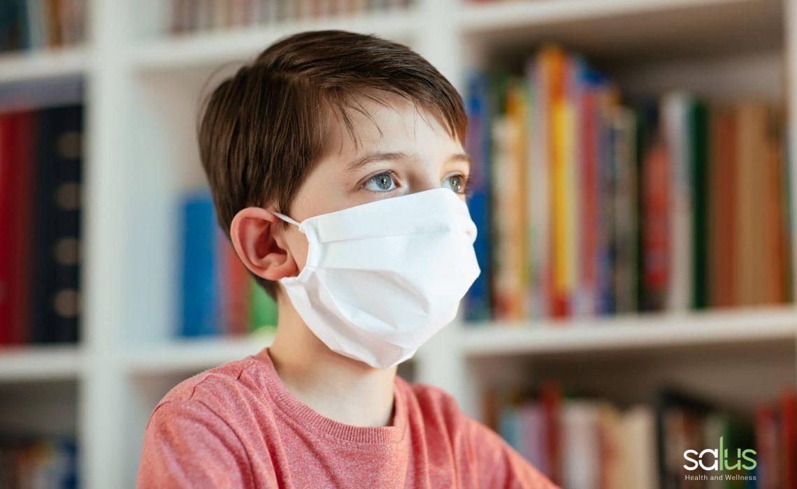 Salus Blog Mascherine per bambini come usarle per prevenire contagi